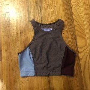 Outdoor Voices Tops - Tri tone Athena crop